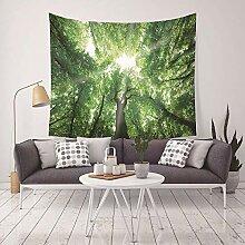 MAFYU Hohe Qualität Wandteppiche Dekorative Wald