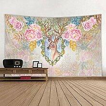 MAFYU Hohe Qualität Wandteppiche Geometrische 3D