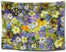 MAFYU Hohe Qualität Wandteppiche Pflanze Blume
