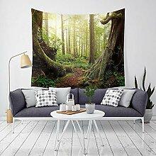 MAFYU Hohe Qualität Wandteppiche Wald Tapisserie