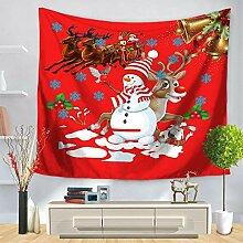 MAFYU Hohe Qualität Wandteppiche Weihnachten