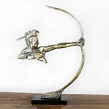 MAFYU Kreative Geschenke Harz-Bronze-Figur
