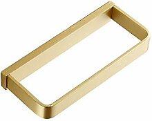 MAFYU Messing Gold Quadratische Wand-Bad