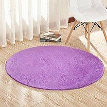 MAFYU Qualität Teppich Gewaschen runder Teppich