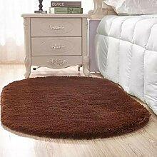 MAFYU Qualität Teppich Ovale Verdickung Teppich