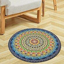 MAFYU Qualität Teppich Runde Druck Teppich Decke