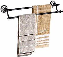 MAFYU Schwarzen Zweipolig Handtuchhalter Voll