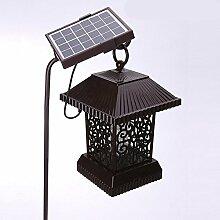 MAFYU Solar Moskito Lampe, Mückenschutz Außenleuchte, Outdoor-Mücke fangen Gerät, super wasserdichte Technologie, grün Schutz der Umwel