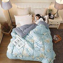 MAFYU Steppdecke/Bettdecke,Bettwäsche Verdickung