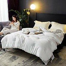 MAFYU Steppdecke/Bettdecke, Doppelte Quilt Warm