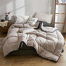 MAFYU Steppdecke/Bettdecke,Verdickt, Warme Decke