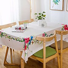 MAFYU Tischdecke Tuch Mode Table Mat Isolierung, D