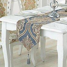 MAFYU Tischläufer,Bett-Flagge Bett Ende Handtuch