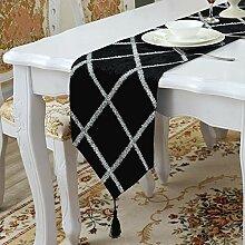 MAFYU Tischläufer,Einfache moderne Tischfahne