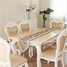 MAFYU Tischläufer,Europäische Vintage Tisch