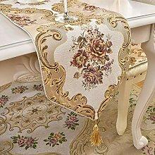 MAFYU Tischläufer,Europaflagge Vintage Tisch