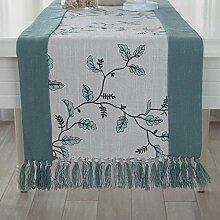 MAFYU Tischläufer,Moderne einfache Baumwolle