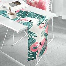 MAFYU Tischläufer,Moderne einfache Tischfahne