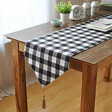 MAFYU Tischläufer,Tabelle Flag Abendessen Flag