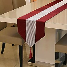 MAFYU Tischläufer,Tabelle Tabelle Europaflagge