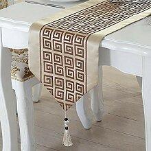 MAFYU Tischläufer,Teetisch Dekoration lange Tuch