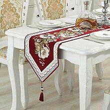 MAFYU Tischläufer,Teetisch Tischdecke Tisch