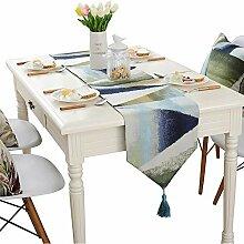 MAFYU Tischläufer,Tuch Flagge Tisch Dekoration