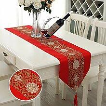 MAFYU Tuch Tisch Läufer Tischdecke Wohnzimmer