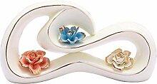 MAFYU Wohnzimmer Dekoration Keramik Blumenvase