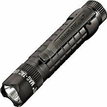 Mag-Lite Mag-Tac LED-Taschenlampe im Tactical-Design, Crowned Bezel, 320 Lumen, 13.4 cm mit 3 Modi, schwarz SG2LRA6