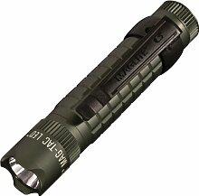 Mag-Lite Mag-Tac LED-Taschenlampe im Tactical-Design, Crowned Bezel, 320 Lumen, 13.4 cm mit 3 Modi, grün SG2LRB6