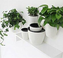 magebao Garten-Mehrzweck Creative Vertikal Aufhängen Übertopf, automatischen Bewässerung, Blumentopf, Wand montiert Pflanzen Halter w/Store Wasser Funktion , ideal für zuhause oder Büro Dekoration