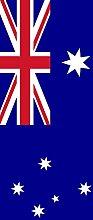 magFlags Ausleger-Flagge: Australien | Hochformat