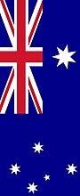 magFlags Banner-Flagge: Australien | Hochformat