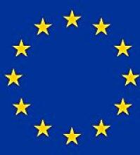 magFlags Flagge: Europa | Hochformat Fahne |