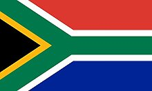 magFlags Flagge: Large Südafrika | Querformat