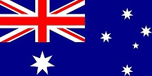 magFlags Flagge: Medium Australien | Querformat