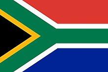magFlags Flagge: XXS Südafrika | Querformat Fahne