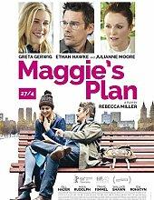 Maggies Plan Poster auf