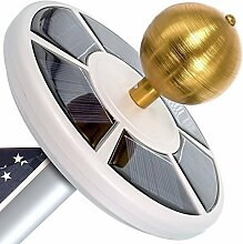 Maggift 26LED Solar Fahnenmast Licht, Solar