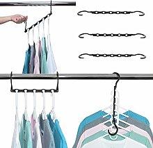 Magic Hangers Kleiderbügel platzsparend, 6