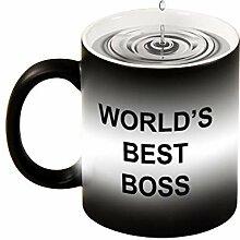 Magic Mug Hitzeempfindliche Tasse mit Farbwechsel,