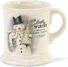 Magic of Winter Schneemann Winter White