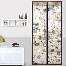 Magic stickers anti-mosquito curtain/hohe denisity,garn tür,vorhänge aus garn/anti-mosquito vorhang/sommer,schlafzimmer,vorhang-A 100x210cm(39x83inch)