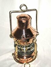 magicaldeco Große Petroleumlampe- Schiffslampe