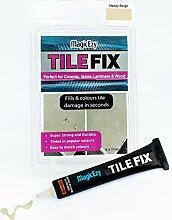 MagicEzy Tile Fix füllt und färbt Fliese Risse