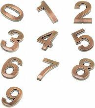 MagiDeal 0-9 Zeichen Zahlen Nummer Diy Aufkleber