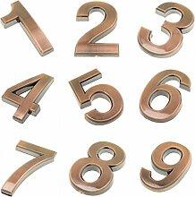 MagiDeal 1-9 Zeichen Zahlen Nummer DIY Aufkleber
