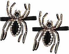 MagiDeal 1 Paar Mode Perle Kristall Hochzeit