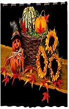 MagiDeal 1 Stück Halloween ThemeFenster-Vorhang Wand Dekoration für Wohnzimmer Schlafzimmer Wasserdichtes entwurf Wohnaccessoires - Halloween-Geschenk - 2x2m